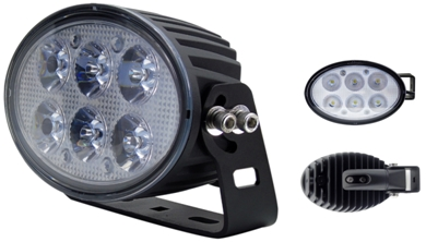 High Power BRT LED60 Scheinwerfer 60 Watt mit ECE - 'E' APPROVED-Lamp