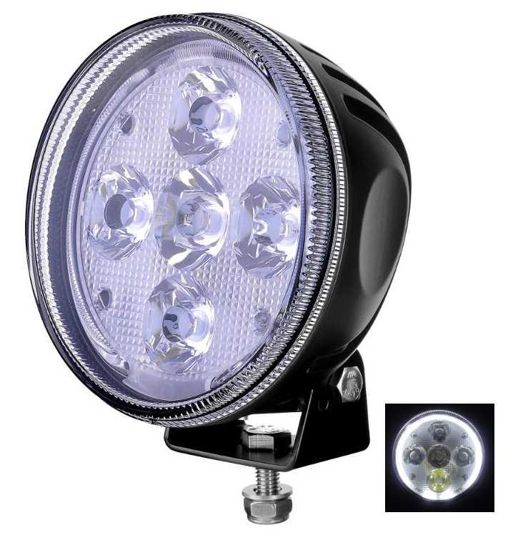 Runder BRT LED Scheinwerfer mit ECE Zulassung