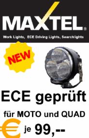 MAXTEL LED für Rallye und Offroad