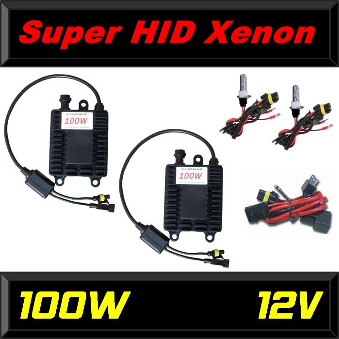 Super HID Xenon Leistung: 100 Watt für den Rallye Profi