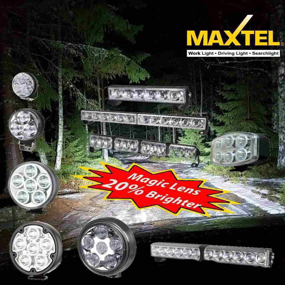 Auswahl von MAXTEL LED Scheinwerfer mit ECE R112