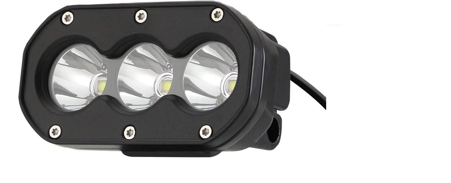 x3LED-Fernscheinwerfer ECO-Line für MOTORAD und QUAD