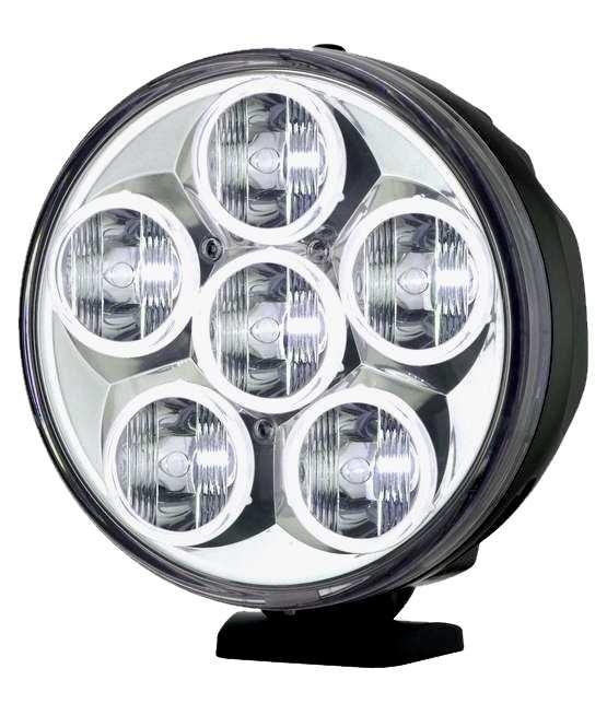 MAXTEL JL-9320 LED High Power 7-Zoll Zusatzscheinwerfer