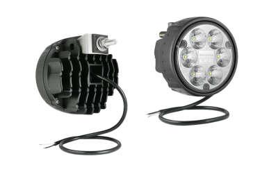 LED Zusatzscheinwerfer WESEM, gem. ECE R112 Halter hinten