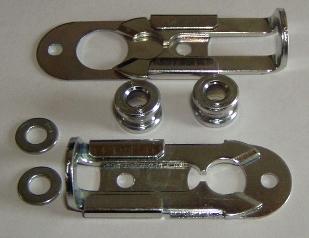 SCHIEBRIEGEL (DZUS Schiebeverschluss mit Pin) für Rallye Lampenträger u. Bumper Pod