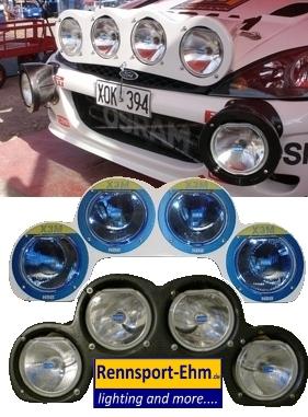 Nightface Lamp Pod für FORD WRC
