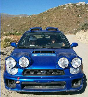 Nightface Lamp Pod Subaru N12