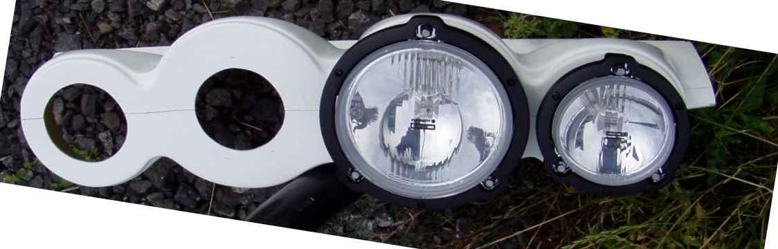 Schutz für Nightface Lamp Pod Porsche 911